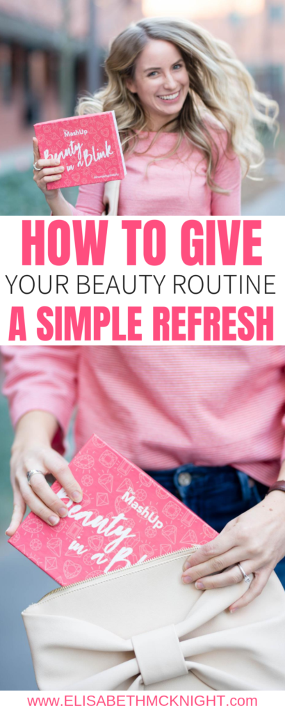 Try this simple trick to refresh your beauty routine! #beautyroutine #dailymakeup #themashupbeauty #beautyinablink