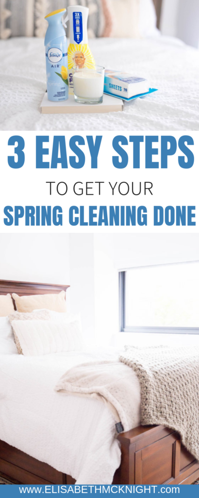 Spring clean your space in 1 week with these three steps for each room with @Febreze #FebrezeFreshForce #SpringCleaningHacks #SpringCleaningTips #ad