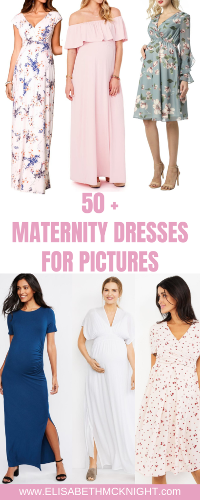 I am sharing over 50 beautiful maternity dresses that would be perfect for maternity pictures! #maternitystyle #maternityfashion #maternitydresses #maternitypictures