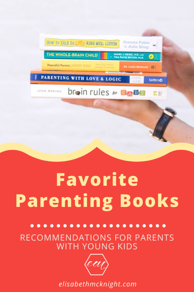A complete list of the best parenting books for parents with young kids! This list of favorites will cover a variety of topics from discipline to development. #favoriteparentingbooks #parentingbooks #parentingtips #parenthood