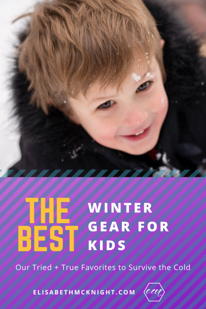 Sharing all of our favorite winter gear for kids! This post has all of our favorite toddler coats, boots, and hats to keep your kids cozy all winter long! #kidsclothes #toddlerclothing #wintergear #winteroutfits #cozyclothes