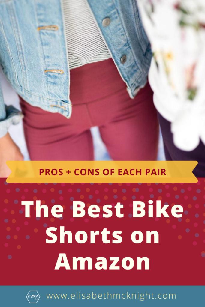 Pros and cons of the most popular bike shorts on Amazon. #bestbikeshortsonamazon #amazonfashion #athleisure
