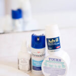 Products you need on hand for post partum recovery